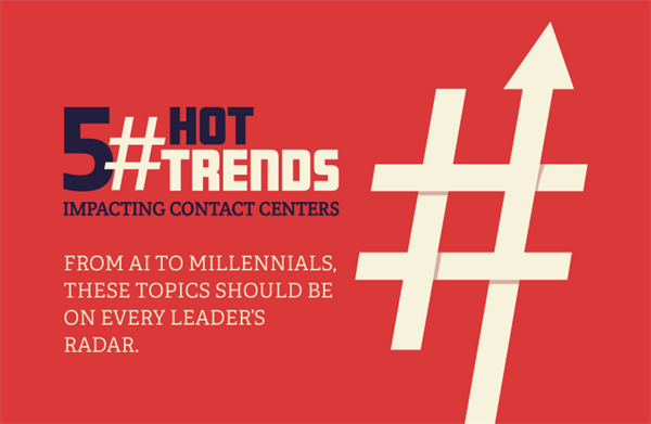 5 Hot Trends Impacting Contact Centers