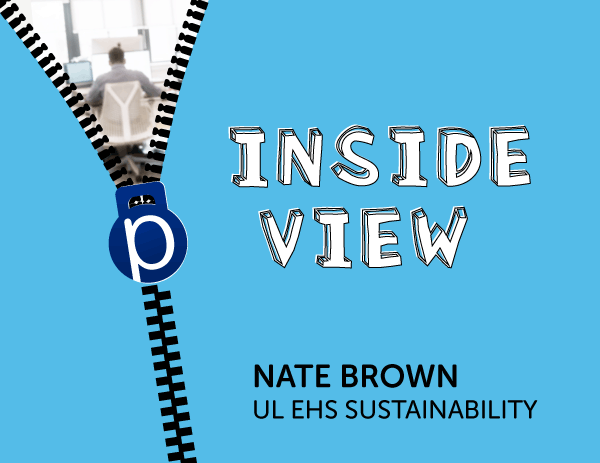 Inside View: Nate Brown, UL EHS Sustainability
