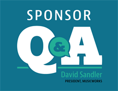 Executive Interview with MusicWorks' David Sandler