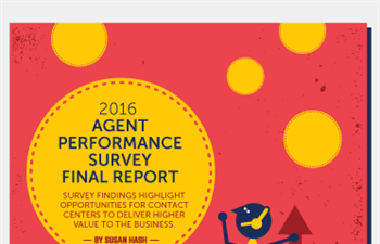 2016 Agent Performance Survey Final Report
