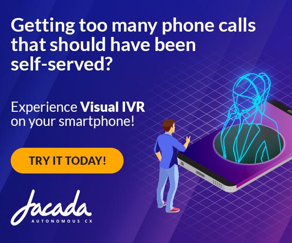 Experience Jacada Visual IVR