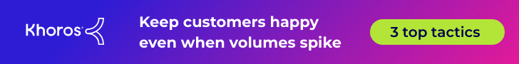 3 tactics to keep customers happy when volumes spike in your contact center