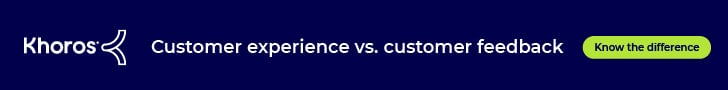 The difference between customer experience and customer feedback